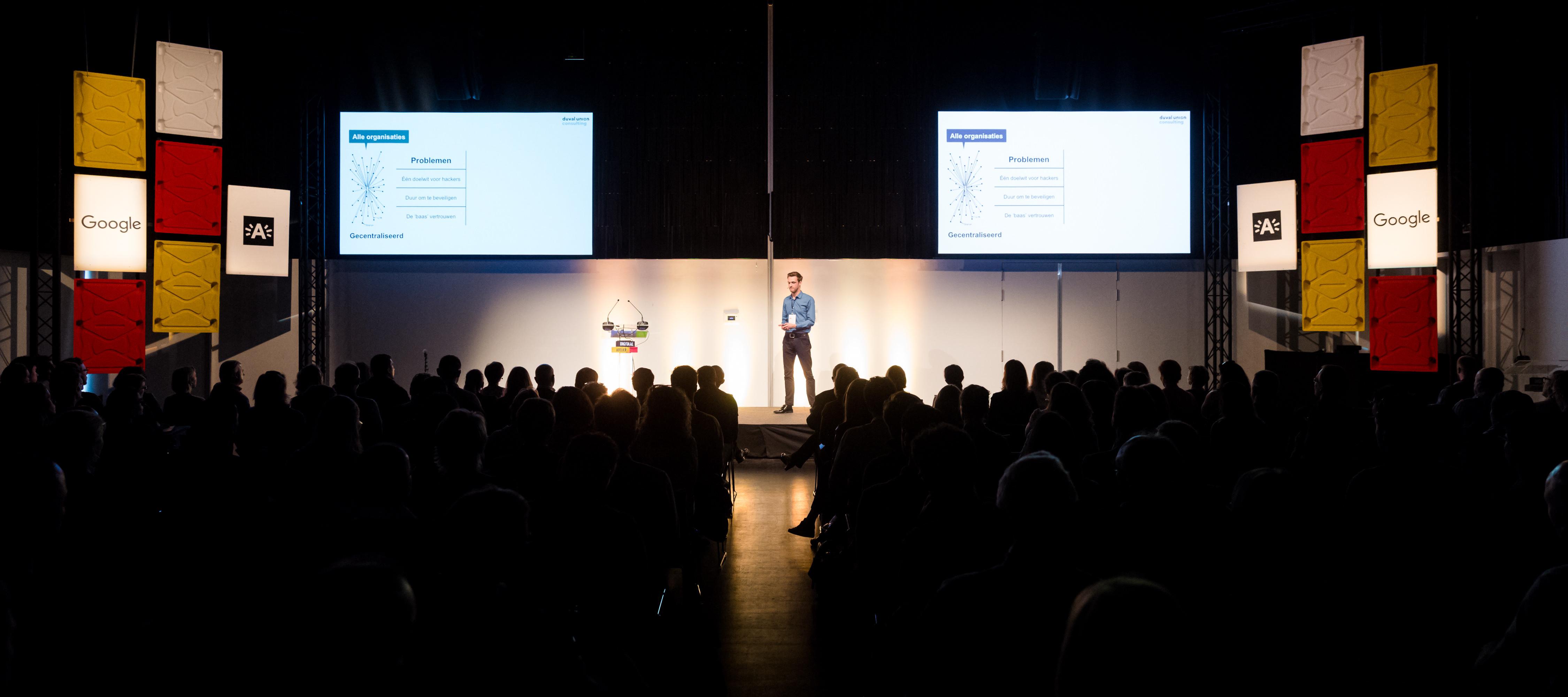 Blockchain Speaker Sam Wouters