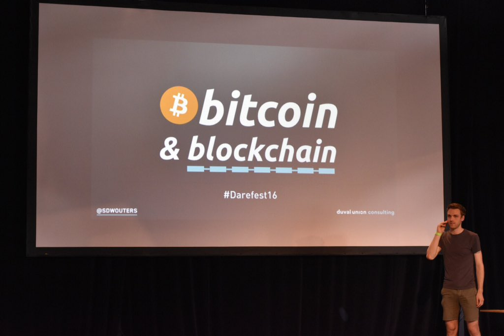 Darefest16 Introduction Bitcoin & Blockchain