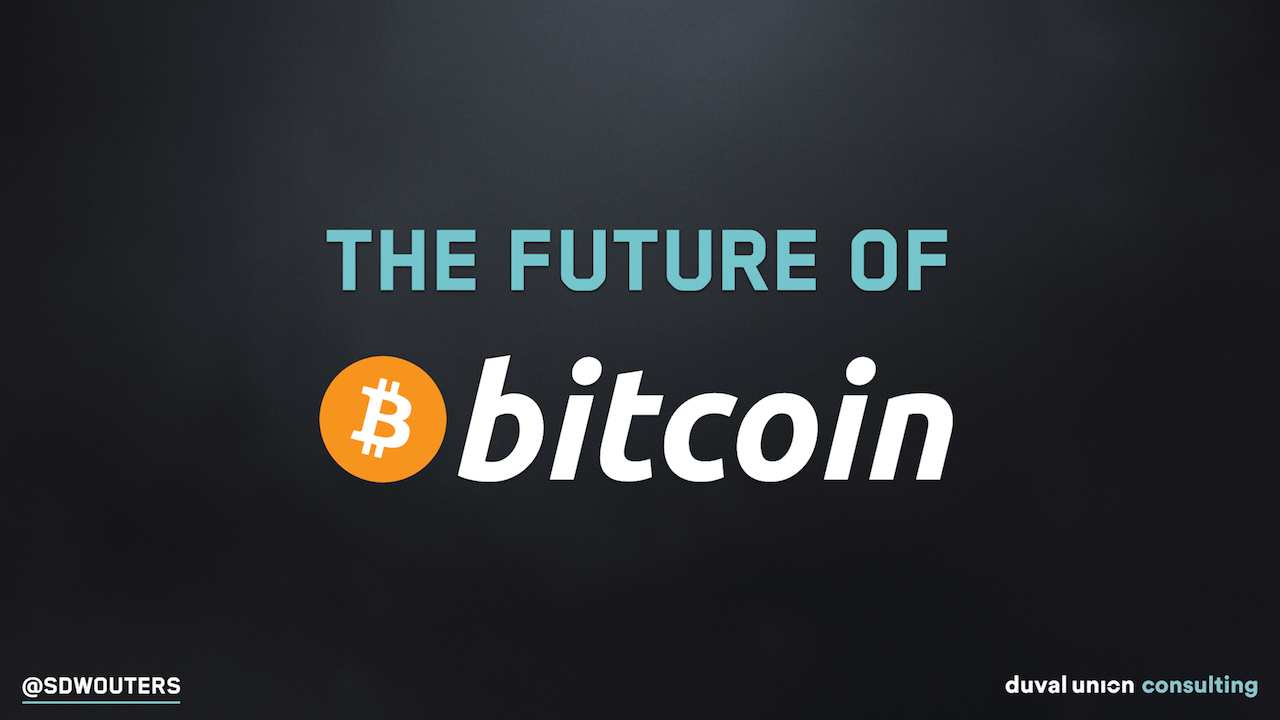 future of bitcoin